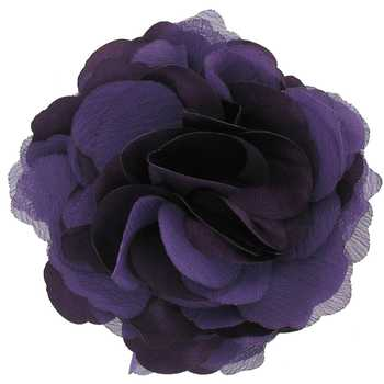 Satin Flower Clip with Pin